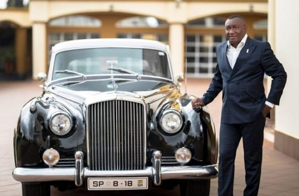 PHOTOS & VIDEOS: Check out eye popping cars of Dr. Ernest Ofori Sarpong