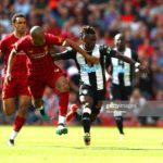 Newcastle winger Christian Atsu apologizes for costly mistake in defeat to Liverpool