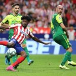 Thomas Partey scores dramatic winner as Atletico Madrid overpower Eibar