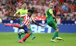 Thomas Partey scores dramatic winner as Atletico Madrid overpower Eibar