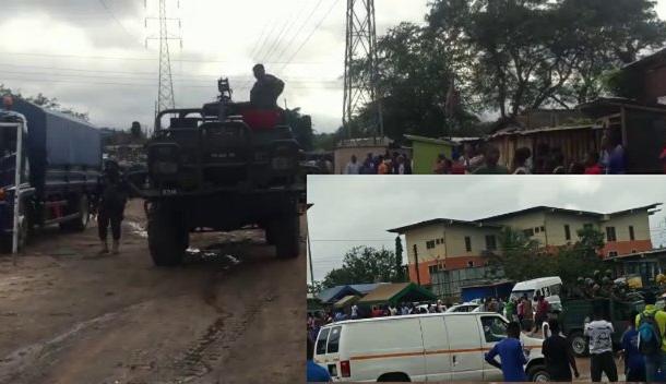 More than 100 criminals arrested in Gomoa Budumburam