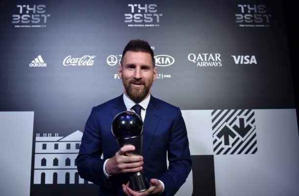 Lionel Messi crowned The Best FIFA Men's Player of the Year
