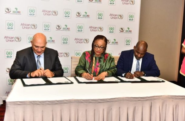 AU Commission signs MoU to support development of agriculture in Africa