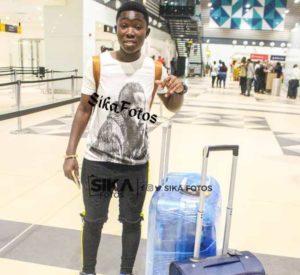 Ghana female star Grace Asantewaa jets off to Spain to begin Legrono Fenenino adventure