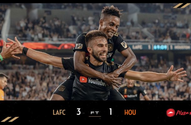 Latif Blessing helps Los Angeles FC win first ever trophy in MLS