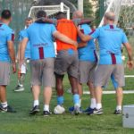 PHOTOS: Caleb Ekuban picks up serious injury in Tranzonspor training