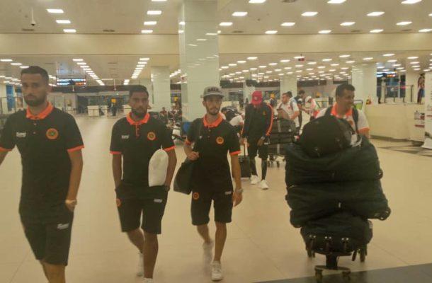 CAF CC: Moroccan side RS Berkane arrive in Ghana ahead of AshantiGold clash