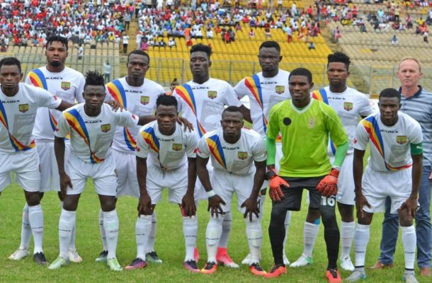 Homowo Cup match between Hearts of Oak-Olympics called off