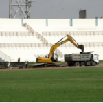 Construction of Nhyinahin Sports Centre nears completion