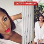 VIDEO: Super Easy going out Makeup Tutorial for black women