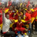 Black Meteors arrive in Ghana after booking AFCON ticket