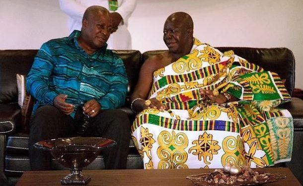 Otumfuo brouhaha: Mahama breaks silence; vows to maintain relationship with Asantehene