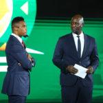 Deputy Caf Gen Sec Tony Baffoe welcomes Eto'o into life after football