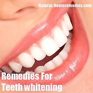 Simple way to naturally whiten your teeth with 3 ingredients