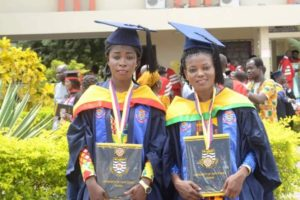 PHOTOS: Three Lady Strikers FC players graduate from UCC