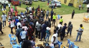 PHOTOS: NPP supporters 'clash' at Odumase-Krobo