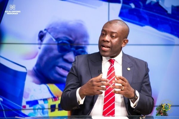 COVID-19: Information minister Oppong Nkrumah hails government's enhanced contact tracing approach