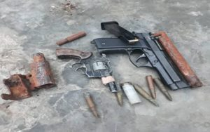 PHOTOS: 16 arrested with pistols and ammunition in Yeji military-police swoop