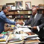Lucky Mensah endorses Akufo-Addo for 2020
