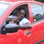 Richard Ako Adjei wins driver of the month on Yango App