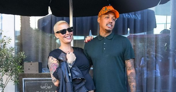 Amber Rose shares first look at her newborn baby boy