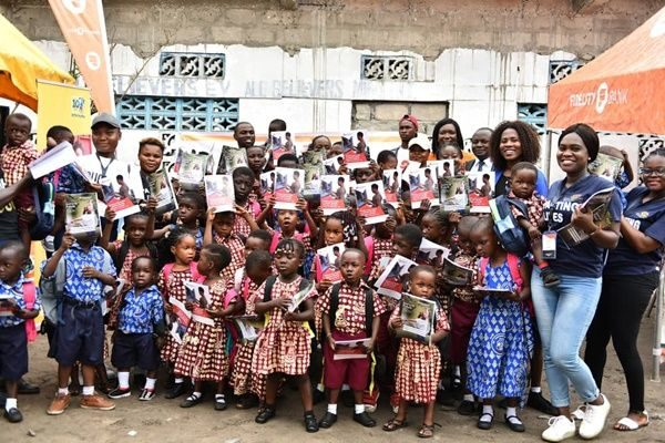 Fidelity Bank gives hope to less priveleged Children at Chorkor