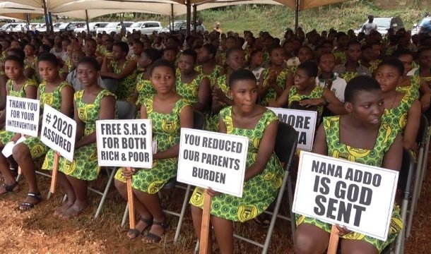 Excel in WASSCE to shame free SHS critics – Akufo-Addo urges students
