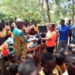 Plan Ghana donates sports equipment to 9 schools in South Tongu district