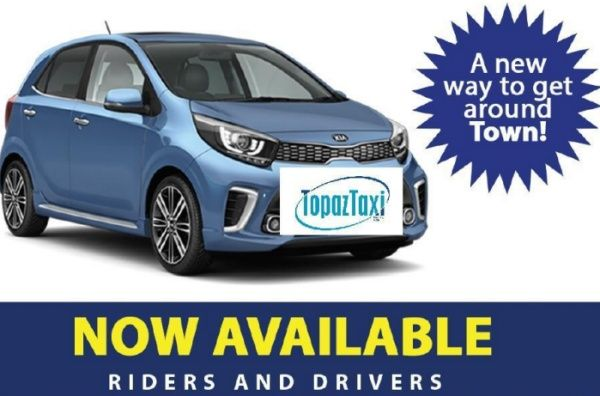 TopazTaxi joins the Online Driving Market