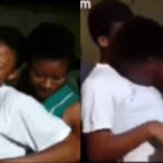 Disturbing video of Ghanaian female SHS students caressing each other while dancing seductively