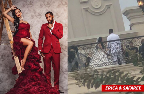 PHOTOS: Love & Hip Hop couple Safaree Samuels & Erica Mena secretly tie the knot in L.A