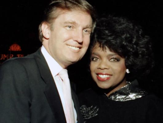 Oprah Winfrey once loved me - President Trump