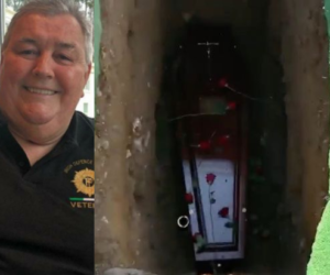 VIDEO: Man wakes up at his funeral as mourners hear him knocking on coffin
