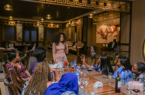 Photos: Becca unites Nigeria's female musicians for an evening of sisterhood