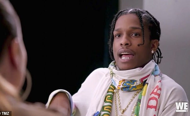 A$AP Rocky says he is a s*x addict, says it began in Junior High School