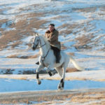 Photos: North Korean leader Kim Jong Un rides on horseback for bizarre snaps in Mount Paektu