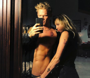 Miley Cyrus gropes boyfriend Cody Simpson's bulge in saucy Instagram photos