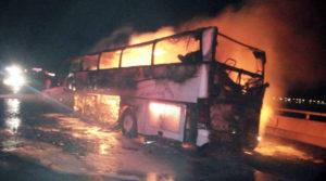 TRAGIC: 35 expatriate Umrah pilgrims burnt to death in Saudi Arabia bus crash
