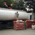 Photos: Customs impounds 250 bags of rice concealed in fuel tanker
