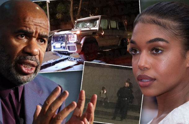 Steve Harvey's daughter, Lori arrested for hit and run