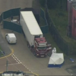 39 people found dead inside truck container in UK