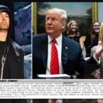 Secret Service agents visited Eminem over 'threatening lyrics' on his 2017 album