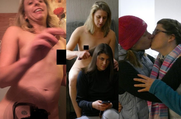 Shocking photos of Congresswoman Katie Hill kissing her young female aide and posing n*de surfaces