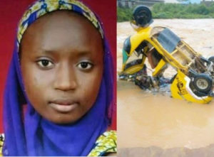 SAD PHOTOS: Lady drowns in floodwater 5 days to her wedding