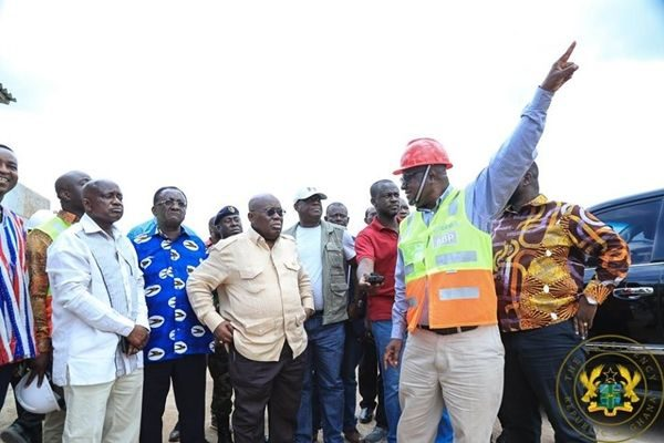 Ensure timely completion of Kumasi Road projects - President Akufo-Addo to Contractors