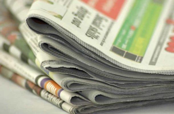 Newspaper headlines: Tuesday, October 22, 2019