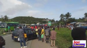 Anomabo:  4 school children killed by a speeding driver