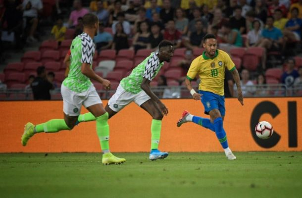 VIDEO: Brazil draws against Nigeria in friendly