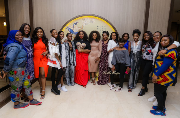 PHOTOS: Becca holds private dinner with leading ladies in Nigeria's music industry