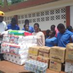 Black Stars B donate to Akropong school for the blind ahead of CHAN qualifier